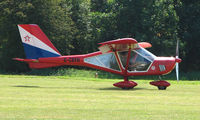 G-CBYH - Foxbat A22 - a visitor to Baxterley Wings and Wheels 2008 , a grass strip in rural Warwickshire in the UK