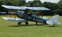 G-AHOO - 1943 Tiger Moth - a visitor to Baxterley Wings and Wheels 2008 , a grass strip in rural Warwickshire in the UK