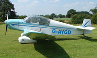 G-AYGD - Jodel DR1051 - a visitor to Baxterley Wings and Wheels 2008 , a grass strip in rural Warwickshire in the UK