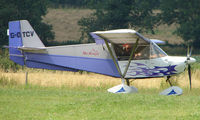 G-OTCV - Skyranger 912 - a visitor to Baxterley Wings and Wheels 2008 , a grass strip in rural Warwickshire in the UK