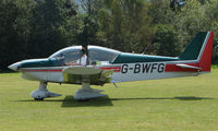 G-BWFG - Robin HR200 - a visitor to Baxterley Wings and Wheels 2008 , a grass strip in rural Warwickshire in the UK