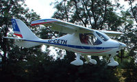 G-CETH - a visitor to Baxterley Wings and Wheels 2008 , a grass strip in rural Warwickshire in the UK