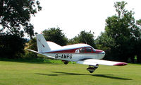 G-AWPS - Piper Pa-28-140 - a visitor to Baxterley Wings and Wheels 2008 , a grass strip in rural Warwickshire in the UK