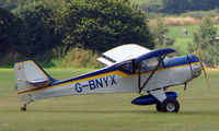 G-BNYX - Denney Kitfox - a visitor to Baxterley Wings and Wheels 2008 , a grass strip in rural Warwickshire in the UK