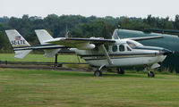 SE-LTE @ EGBM - A swedish registered (but UK based) Cessna 337 at Tatenhill