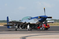 N351DT @ MCF - Crazy Horse P-51D - by Florida Metal