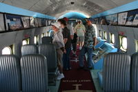 N500EJ @ MCF - Interior of the C-54 Berlin Airlift