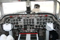 N500EJ @ MCF - Cockpit of C-54 Berlin Airlift