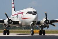 N500EJ @ MCF - C-54 Berlin Airlift Heritage plane