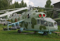 50 @ MONINO - Mi-24A - by Christian Waser