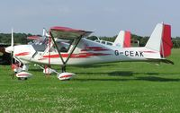 G-CEAK @ EGBK - Ikarus C42 at Sywell - by Simon Palmer