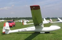 G-ECPA - Glasflugel H201B Standard Libelle - by Simon Palmer