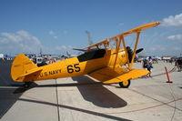 N6241D @ MCF - Boeing B75N1 PT-17