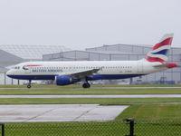 G-BUSI @ EGCC - British Airways - by Chris Hall