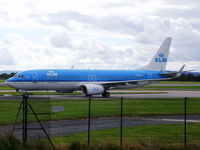 PH-BXE @ EGCC - KLM - by chrishall