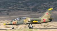 N139AJ @ 4SD - landing during Reno air races - by olivier Cortot