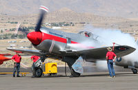 N20SF @ 4SD - starting engine at reno - by olivier Cortot