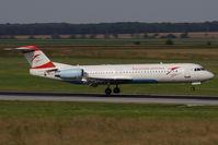 OE-LVH @ VIE - Fokker 100