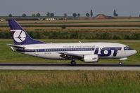 SP-LKD @ VIE - 1992 Boeing 737-55D