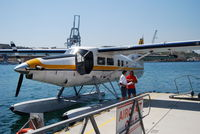9H-AFA - De Havilland DHC-3 Otter @Valletta Harbour (Harbourair) - by Hannes Tenkrat