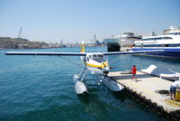 9H-AFA @ VALLETTA H - De Havilland DHC-3 Otter @Valletta Harbour (Harbourair) - by Hannes Tenkrat