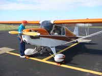 N1171Q @ KUBE - Preparing for EAA Young Eagles Flight - by Malcolm Paine