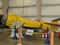 N14215 @ KBDL - With a Gee Bee and a Laird Solution for company, this aerial hot rod shows off her bright plumage at the New England Air Museum. - by Daniel L. Berek