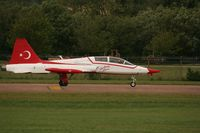 70-4005 @ EGVA - Taken at the Royal International Air Tattoo 2008 during arrivals and departures (show days cancelled due to bad weather) - by Steve Staunton