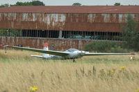 D-KNEU @ EGLG - 3. D-KNEU visiting Panshanger Airfield - by Eric.Fishwick