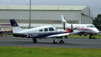 D-ECHY @ EGPH - seen here at the General aviation terminal - by Mike stanners