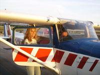 N714HT @ X04 - Shana flying HT - by dlarsonmobile