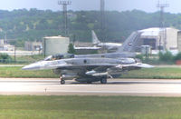 00-6057 @ NFW - UAE (3002) F-16F Block 60 out for a test flight at Lockheed Martin. Sorry for the dark sopt in the photo...fence got in the way...grrr - by Zane Adams