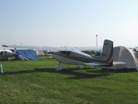 C-FWBA @ OSH - 1958 Cessna 175 SKYLARK, Continental GO-300E 175 Hp - by Doug Robertson