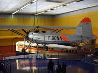 F-BCNM @ LFPB - on display at Le Bourget Muséum - by juju777