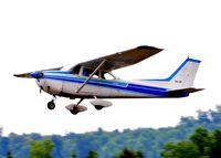 N1422F @ 5W8 - Departing runway 4 - by John W. Thomas