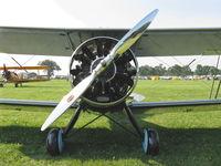 N11424 @ OSH - 1931 Waco QCF, speed ring cowl - by Doug Robertson
