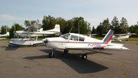 C-FGBN @ CSL3 - C-FGBN parked next to a Cessna 185 at Lac-à-la Tortue - by Daniel Villeneuve