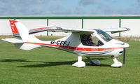 G-CFFJ @ EGCJ - Visitor to the 2008 LAA Regional Fly-in at Sherburn