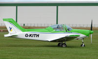 G-KITH @ EGCJ - Visitor to the 2008 LAA Regional Fly-in at Sherburn