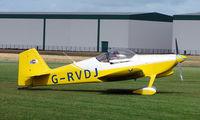 G-RVDJ @ EGCJ - Visitor to the 2008 LAA Regional Fly-in at Sherburn