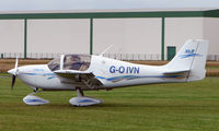 G-OIVN @ EGCJ - Visitor to the 2008 LAA Regional Fly-in at Sherburn