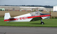 G-BVEH @ EGCJ - Visitor to the 2008 LAA Regional Fly-in at Sherburn