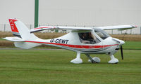 G-CEWT @ EGCJ - Visitor to the 2008 LAA Regional Fly-in at Sherburn