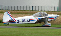 G-BLXI @ EGCJ - Visitor to the 2008 LAA Regional Fly-in at Sherburn