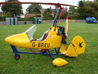 G-BREU @ EGCJ - Visitor to the 2008 LAA Regional Fly-in at Sherburn