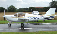 G-CHOX @ EGCJ - Visitor to the 2008 LAA Regional Fly-in at Sherburn