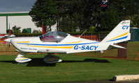 G-SACY @ EGCJ - Resident aircraft at Sherburn - seen during 2008 LAA Regional Fly in