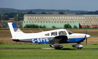G-BPYO @ EGCJ - Resident aircraft at Sherburn - seen during 2008 LAA Regional Fly in