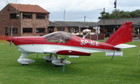 SP-ICE @ EGCJ - Static Display aircraft at the 2008 LAA Regional Fly-in at Sherburn