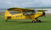G-BNXM @ EGCJ - Visitor to the 2008 LAA Regional Fly-in at Sherburn